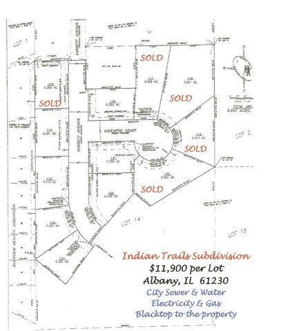 Lot 112 Garrett Avenue, Albany, IL, 61230 Photo 1