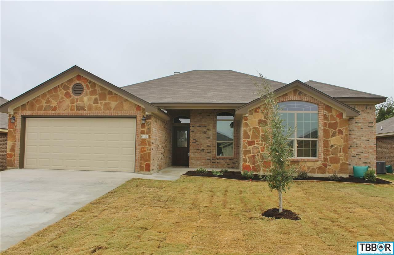 8413 Salt Mill Hollow Drive, Temple TX 76502