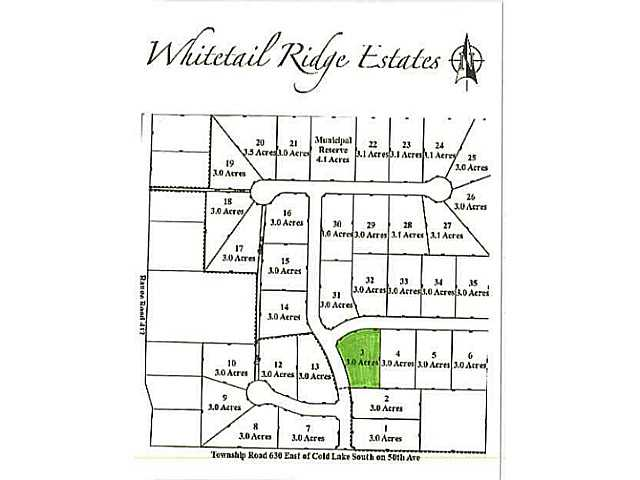 Lot 3 Whitetail Ridge Estates, Bonnyville AB T9M1P1