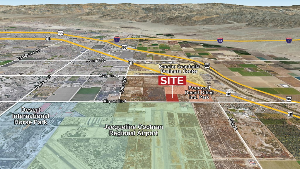 86600 Airport Blvd, 19.5 Ac E Tyler Boulevard, Thermal CA 92274