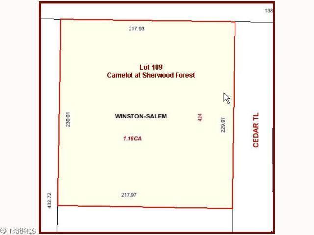 424 Cedar Trail, Winston Salem NC 27104