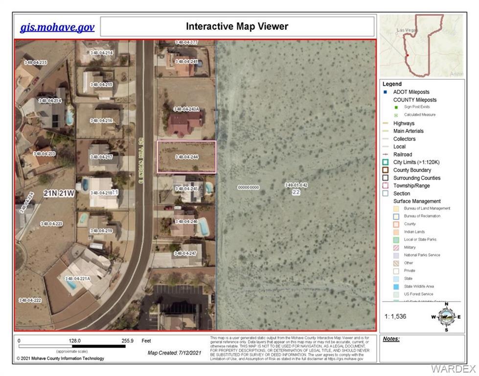 3547 Indian Hill Drive, Bullhead AZ 86429