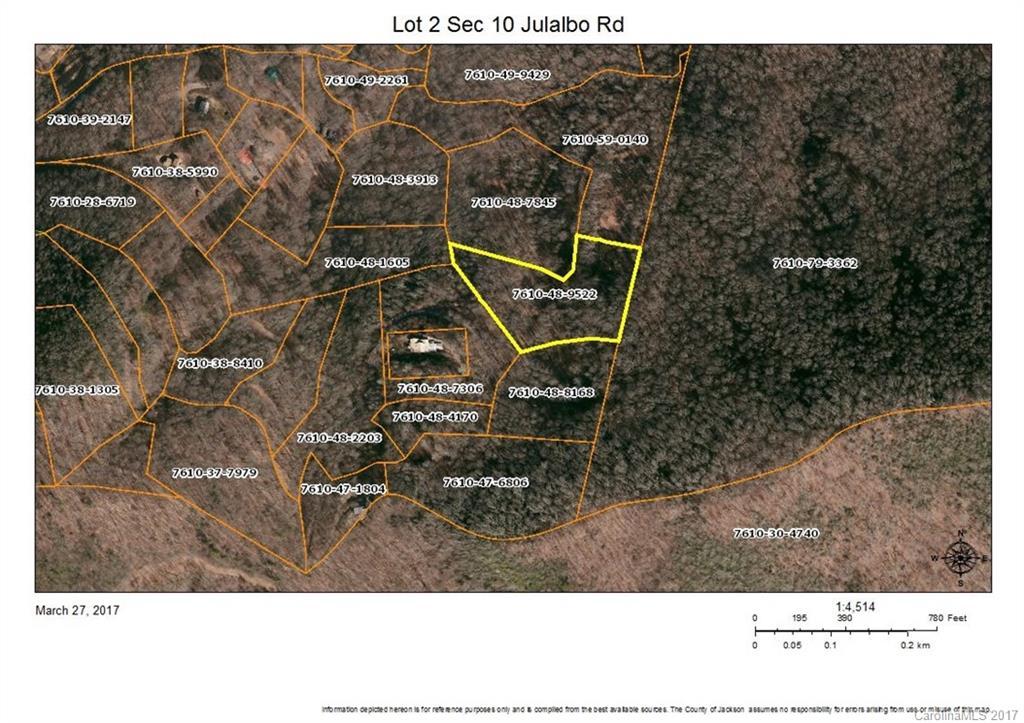Lot 2 Section 10 Julalbo Road # -lot 2, Sec 10, Whittier NC 28789