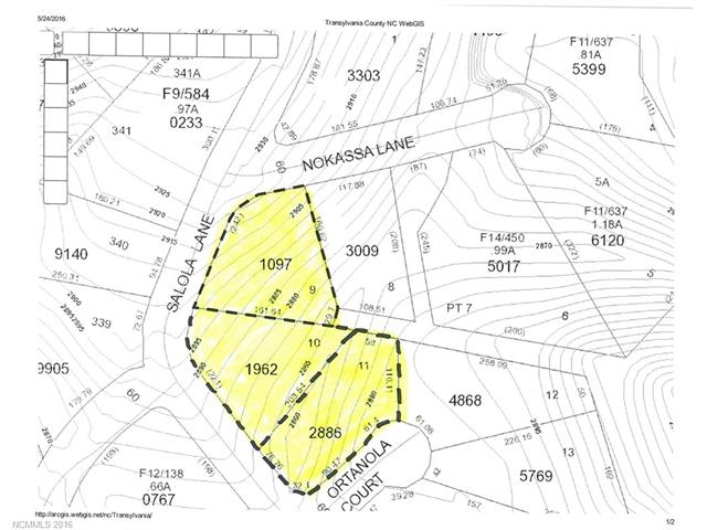 Tbd Salola Lane # U3/l9,10,11, Brevard NC 28712